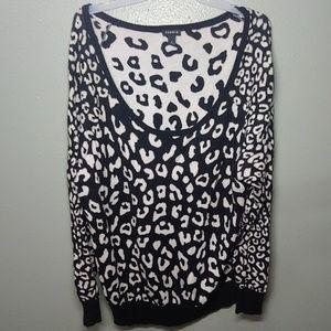 Torrid Leopard Sweater